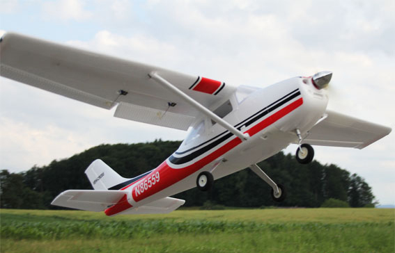 Cessna 1560mm/61.4'' EPO Electric RC Airplane Kit Version
