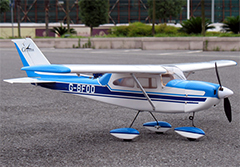 "Cessna Skylane 15 41"" Nitro/Electric RC Airplane ARF Blue"