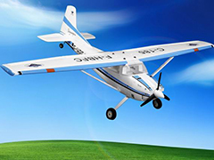 2.4G 4-Channel Cessna 185 59.1'' Ready-to-Fly RC Airplane Powered by Powerful 3715 Brushless Motor, 50A ESC and 14.8V/2200mAh/15