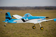 Dynam Cessna 188 Crop Duster 59''/1500mm Electric RC Plane Blue Ready-To-Fly