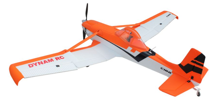 Dynam Cessna 188 Crop Duster 59''/1500mm PNP Electric RC Plane Orange
