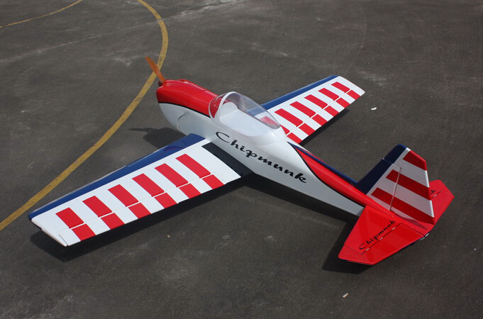 Goldwing ARF Super Chipmunk 30CC 80''/2035mm Gas/Electric RC Airplane A