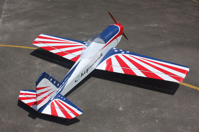 Goldwing ARF Super Chipmunk 30CC 80''/2035mm Gas/Electric RC Airplane B