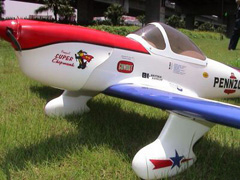 Flyfly Super Chipmunk 63.8'' Fiber Glass Electric RC Airplane ARF