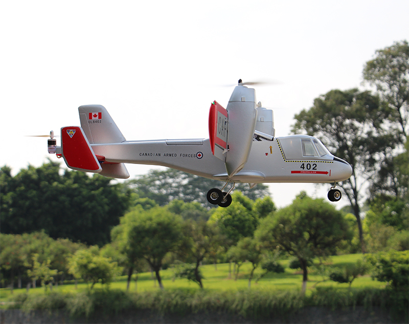 Unique Model Canadair CL-84 Dynavert Tilt-Wing VTOL RC plane PNP
