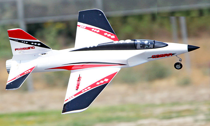 Freewing Cobra Jet 70mm EDF Sportjet eRC Rebel RC Jet Kit Version