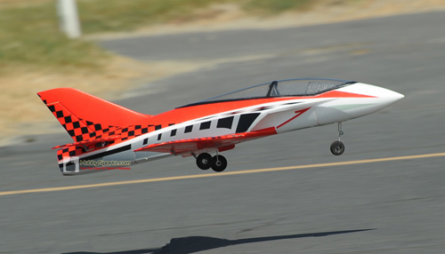 Concept X 748mm Wingspan 64mm EDF RC Jet Ready-To-Fly Red