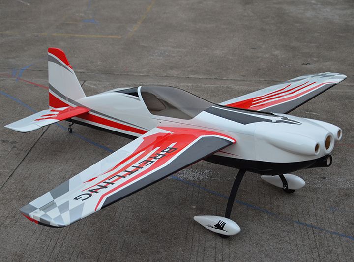 Skyline Corvus 30CC 74''/1880mm 3D Aerobatic RC Airplane ARF Carbon Reinforced Version 2 C