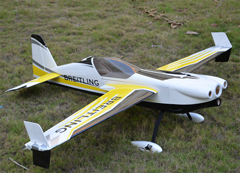 Skyline Corvus Breitling 30CC 74''/1880mm 3D Aerobatic RC Airplane ARF B
