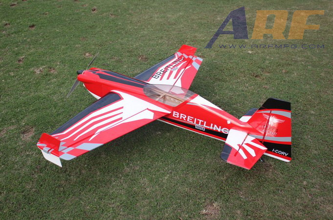 Skyline Corvus 540 70E 59'' 1500mm Aerobatic RC Plane B Red