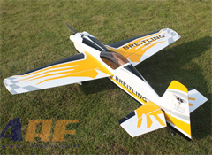 Goldwing ARF Corvus 540 70E 59'' 1500mm Aerobatic RC Plane A Yellow