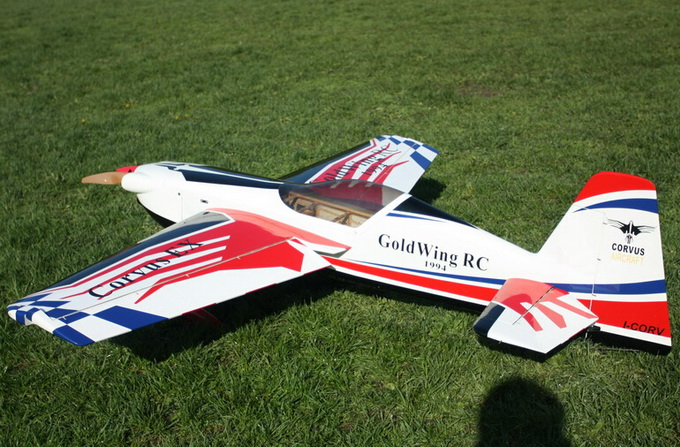 Goldwing ARF-Brand Corvus 77'' Extreme Series Aerobatic 170E Electric RC Plane C Carbon Version