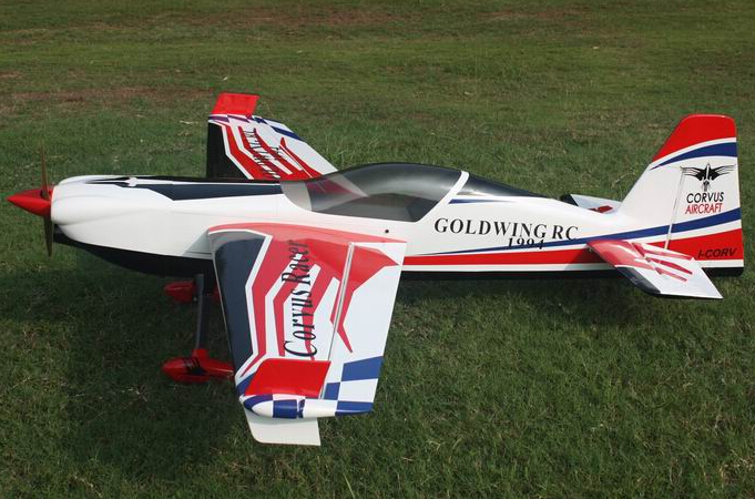 Goldwing ARF-Brand Corvus Racer 540 50CC C 89'' Carbon Fiber Aerobatic RC Airplane