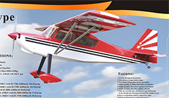 Goldwing ARF-Brand Decathlon 20-30CC 86'' Gas/Electric RC Plane ARF