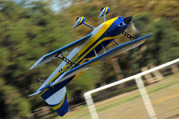 Dynam Devil 3D Sport Aerobatic Bi-Plane EPO Electric RC Plane Ready-To-Fly