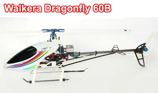 Walkera Dragonfly 60B 7-Channel CNC RC HelicopterReady-To-Fly