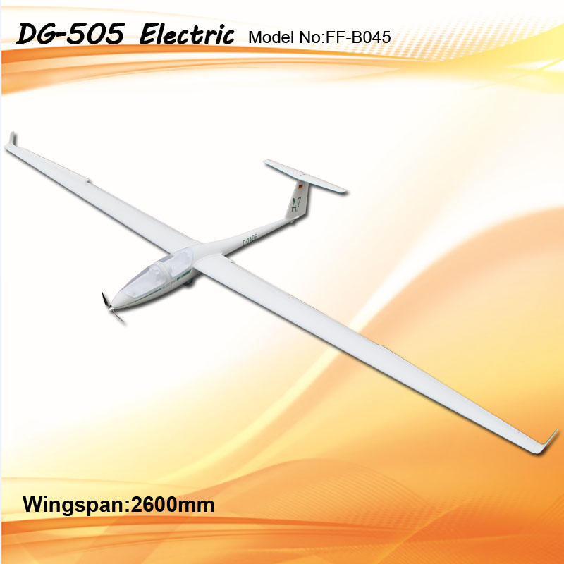 Flyfly DG-505 2.6m Electric RC Glider FF-B045