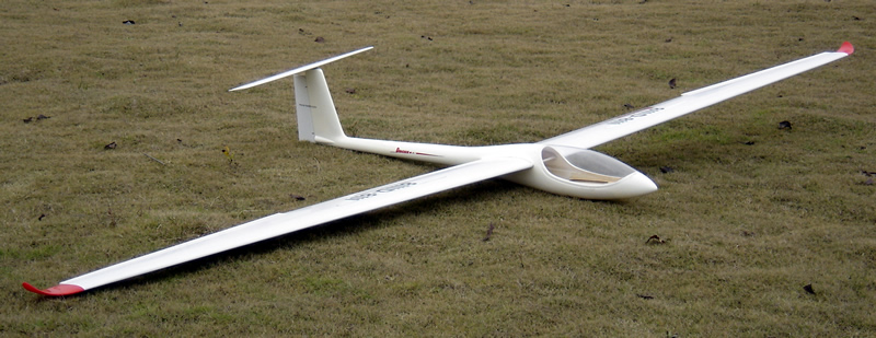 Discus-711 4m/157'' Glider with Extra Wings