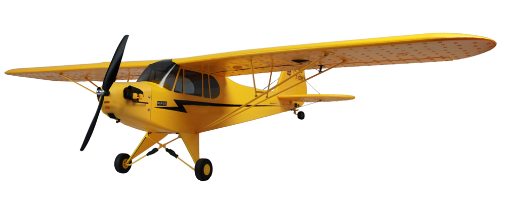 Dynam Piper J-3 Cub 1245mm Electric RC Airplane Ready-To-Fly