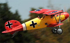 Dynam Albatros RC Bi-Plane 1270mm Electric RC Plane Ready-To-Fly