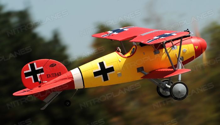 Dynam Albatros RC Bi-Plane 1270mm Electric RC Plane PNP