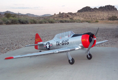 AT-6 Texan 5-CH 2.4Ghz 1370mm Electric R/C RC Airplane Plane Ready To Fly