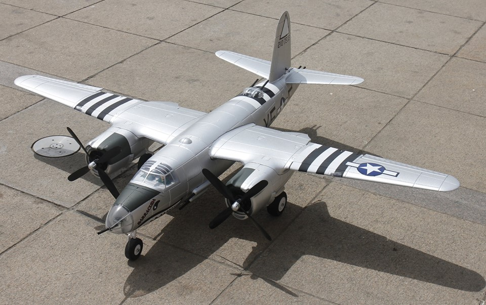 Dynam B-26 Marauder 1500mm Wingspan EPO RC Airplane PNP