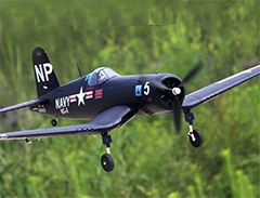 Dynam F4U Corsair V2 50'' EPO Electric RC Airplane Warbird Installed With Motor/ESC/Serovs/Prop/Retracts
