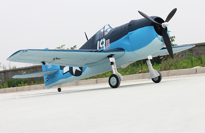 Dynam F6F Hellcat 50'' 1270mm EPO Electric RC Airplane Ready-ToFly