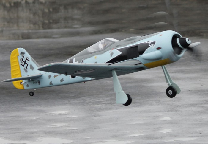 Dynam FW-190 50'' EPO Electric RC Airplane PNP With Retracts