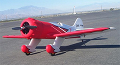 "Dynam Gee Bee Y 1270mm (50"") Wingspan Electric RC Plane PNP"
