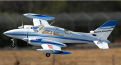 Dynam Grand Cruiser 2.4GHz 4CH Twin Engine Electric RC Airplane RTF With Retracts