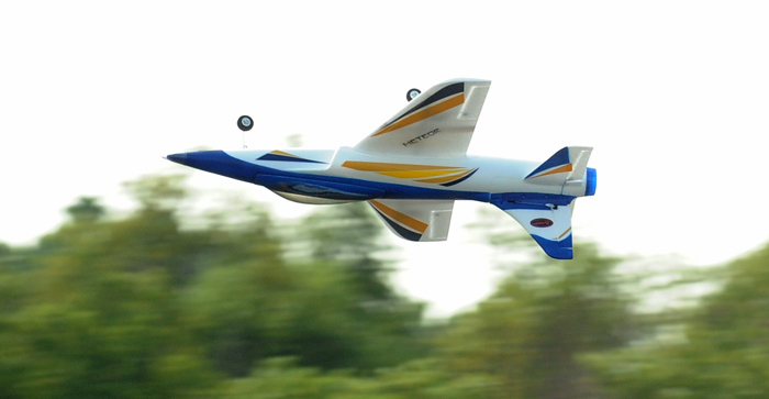 Dynam Meteor Brushless 70mm EDF RC Jet RC Airplane 4-Ch RTF