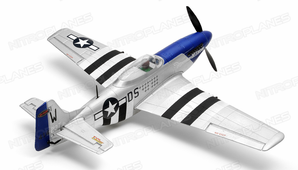 Dynam Mini P-51 620mm Wingspan Ready-To-Fly RC Plane