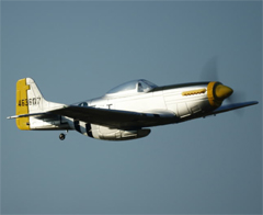 P-51 Mustang 1200mm Electric RC Airplane Ready-To-Fly