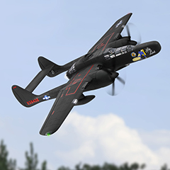 Dynam P-61 Black Widow 1.5m Twin engine PNP