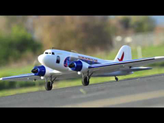 "Dynam 4-CH SkyBus 58"" Twin Engine RC Plane PNP"