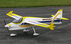 "Dynam Smart Trainer 1500mm (59"") Wingspan Electric RC Plane PNP"