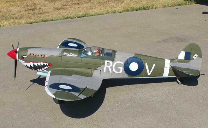 Spitfire 1200mm/47'' Electric RC Airplane Ready-To-Fly With Retracts