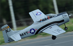 Dynam T-28 Trojan 1270mm EPO RC Plane With Retracts PNP