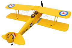 Dynam Tiger Moth 1270mm EPO Electric RC Plane PNP