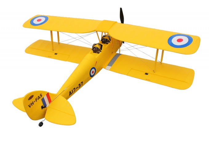 Dynam Tiger Moth 1270mm EPO Electric RC Plane Ready-To-Fly