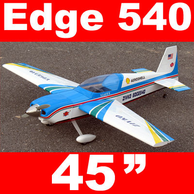 Edge 540 25 45'' Electric RC Airplane ARF Blue