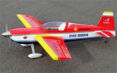 Edge 540 25 45'' Electric RC Airplane ARF Red, Missing Fuselage