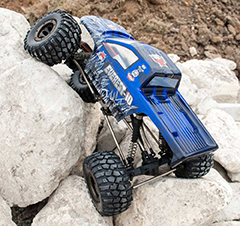 Everest-10 1/10 Scale Crawler 2.4GHz Blue