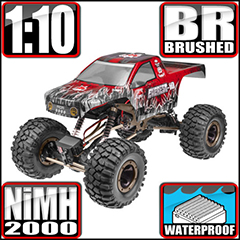 Everest-10 1/10 Scale Crawler 2.4GHz Red