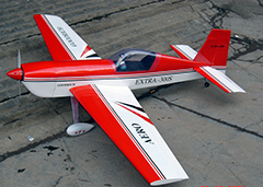 Extra 300S 60 63'' RC Airplane ARF, Missing Cowl and Canopy