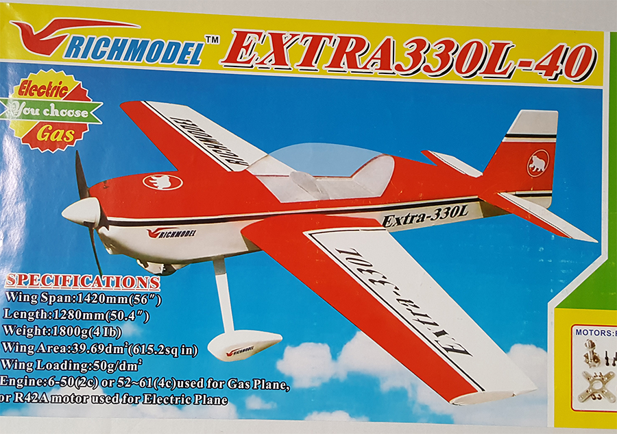 Richmodel Extra 330L 56'' 3D RC Plane New