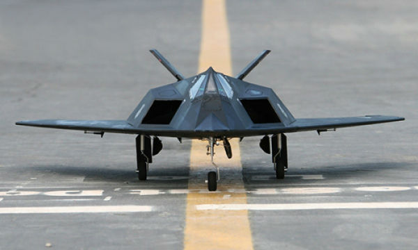 LX F-117 Nighthawk 70mm EDF With Retracts Ready-To-Fly