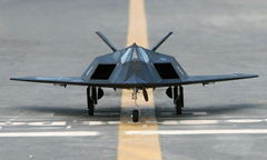 LX F-117 Nighthawk 70mm EDF With Retracts Kit Version